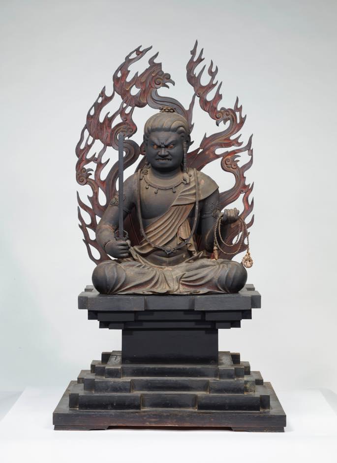 国指定 重要文化財 鎌倉時代 木造不動明王坐像 快慶作