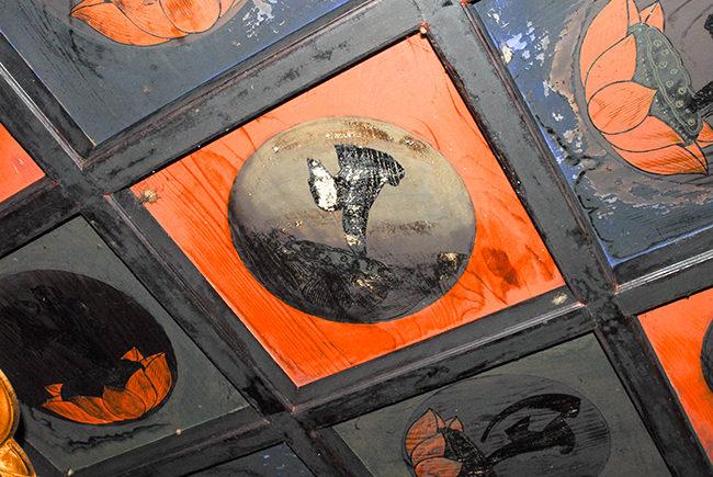 本堂の天井画