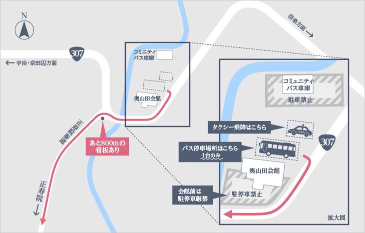 バス駐車場MAP